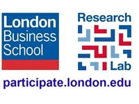 London Business School Research Lab- Earn £10 in under an hour participating in behavioural research