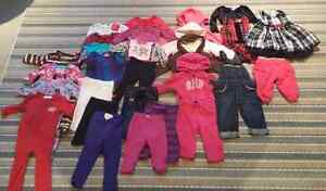 6-12 months girls clothing lot