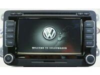 Genuine VW RNS 510 LED Navigation system Sat Nav Golf Passat Scirocco