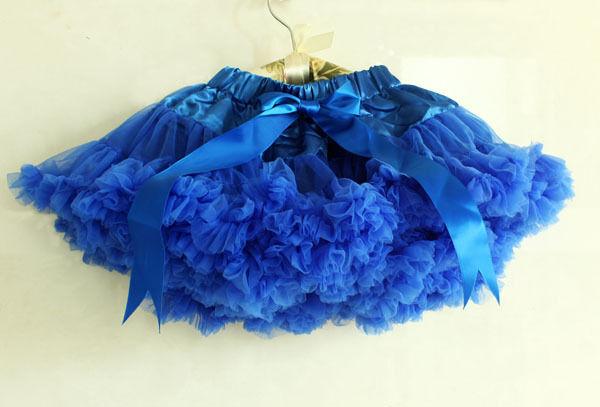 1pc Kid Baby Girl Tutu Dress Pettiskirt Skirt Costume Cloth Dancewear Blue 0 14Y