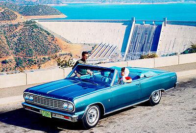 1964 Chevrolet Chevelle Malibu SS Convertible - Promotional Photo - 1964 Malibu Convertible