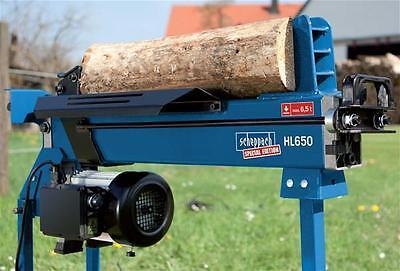 Holzspalter liegend Hydraulikspalter Scheppach HL 650 6,5t 230V
