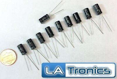 10pc Topmay Electrolytic Radial Aluminum Capacitor 100uF 25V 6x12mm 105°C New 25v Aluminum Electrolytic Capacitor Radial