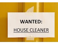 WANTED CLEANER / GARDENER TO CUT THE GRASS £10 PER HOUR