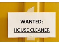 Looking for a reliable house cleaner