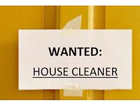 House cleaner required (New Dover Road Canterbury)