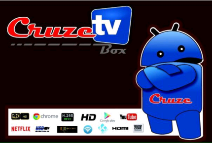 Cruze TV Box - Latest Model - 4K Quality