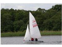 Lark Sailing Dinghy Boat Sail No. 2210