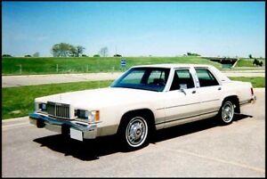 1987-1991 Mercury Wanted, Grand marquis 4 door  Sedan or wagon