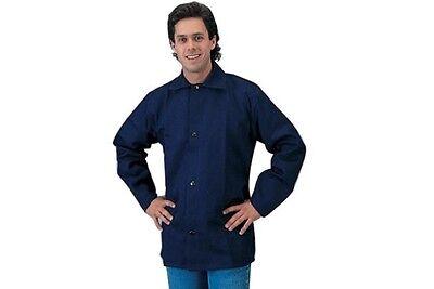 2 Tillman 6230bs 30 9 Oz. Navy Blue Fr Cotton Welding Jacket Small 6230