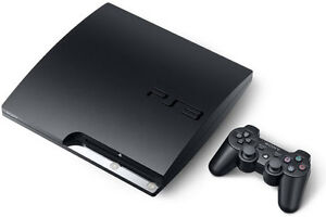 PS3 (1 TB = 1000 GB) + 2 controllers + 15 games
