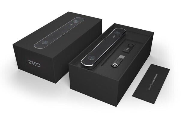 Zed Stereo Camera - Machine Vision, Depth and Motion Tracking