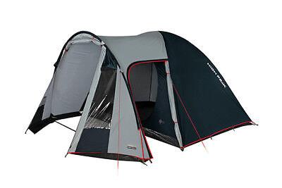 High Peak Tessin 5 Personen Zelt Kuppelzelt Campingzelt Familienzelt
