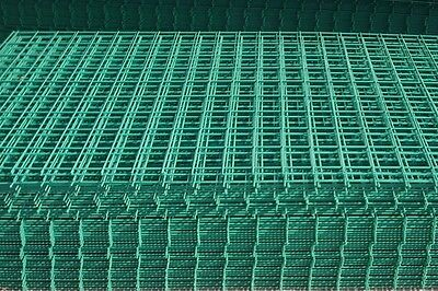 PVC Welded Wire Panel   2 Pack   1.82m x 0.91m  1