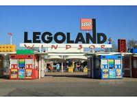 Legoland Tickets Saturday 21st October