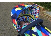 Cossato giggle pushchair..excellent condition