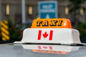 Toronto Taxi Plate Standard only