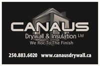 Drywallers /Tapers Needed In Victoria BC
