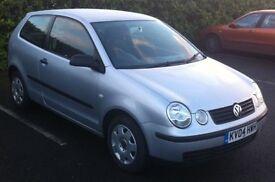 Volkswagen POLO. 12 MONTH MOT. 36005 MILES. £2150.