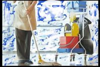 * HIRING * COMMERCIAL CLEANER   * LONG TERM EMPLOYMENT *