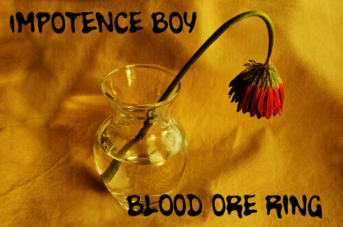 Impotence Boy Penis Shrinking Manhood Impotence Voodoo Blood Ore Ring Shrivel