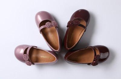 ( Girls Flower Classic Mary Jane Ballerina Flat (Toddler/Little Girls))
