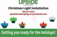 CHRISTMAS LIGHT INSTALLATION!!