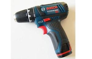 bosch 12 volt lithium ion drill, 2 battery and charger