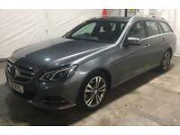 MERCEDES-BENZ E CLASS E220 BLUETEC CDI SE AUTO Estate 175 BHP 1 Owner (grey) 2016