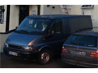 Ford Transit 2.0TDCi Blue Metallic Spares or Repairs Must Go!