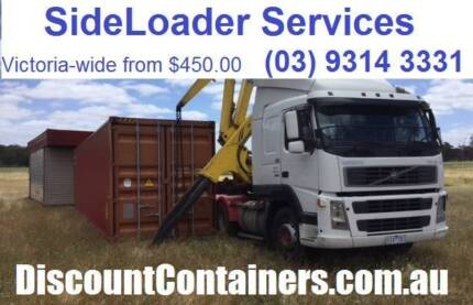 Shipping Container. Sales Transport, Relocation. Vic-wide