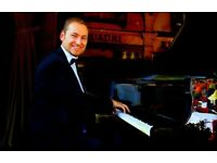 Pianist for weddings & events - also available with piano shell