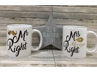 Mr right & Mrs always right gift set