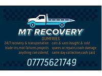 24hr recovery and transport
