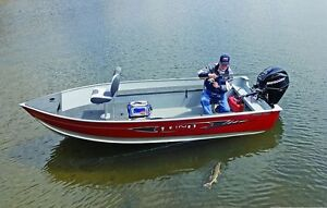 """Boat Show Special! New """"2017"""" Lund 1400 Fury Tiller"""