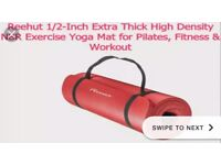 Extra thick exercise mat ! Like brand new