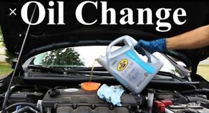 Oil Changes $25 Labour &You Bring You're Oil Plus Filter