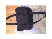 C black over night hold all bag