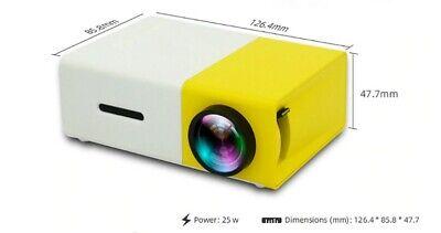 Vidéo Projecteur Home Cinéma Beamer Projection Portable Multi Média Petit Film