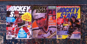 Hockey stars magazines lot 1990's