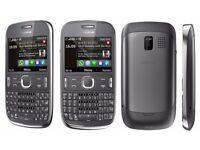 Nokia Asha 302 - Dark Grey (Unlocked) Mobile Phone