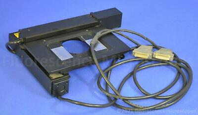 Marzhauser Wetzler Motorized Stage Scan 65x50 Dc For Zeiss Axioplan-2 Microscope