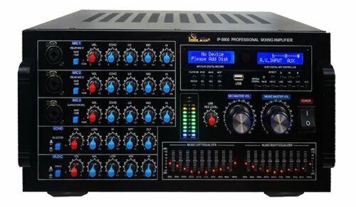 IDOLMAIN IP-5900 6000W Digital Karaoke Mixing Amplifier - BRAND NEW - MODEL 2020