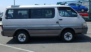 11/1996 TOYOTA TURBO DIESEL 4WD Super Custom Hiace 8 seater, auto Coraki Richmond Valley Preview