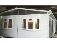 Qualiluminar Sevenoaks twin lodge 40x20ft Brand New Custom-built DG CH
