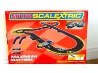 Scalextric Micro Aston Martin DBR9 Maximum Mayhem Slot Cars Toy