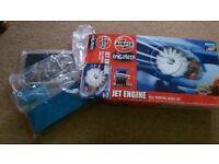 Airfix engineer jet engine model