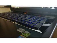 High performance gaming laptop Skyfire III . 2xGPU GTX 970m + HD 4600 , i7 4th gen , SSD128 , HDD750