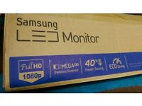 Samsung Full HD 1080p LED Boxed complete with manual cd etc