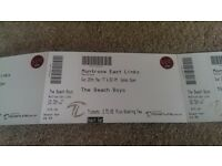 The Beach Boys tickets x4 - for Montrose Sunday 28/05/17